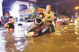TP. Hồ Chí Minh: Tình trạng ngập nước ngày càng gay gắt