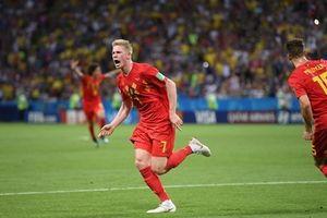 Tiễn Brazil về nước, tuyển Bỉ vào bán kết sau 32 năm chờ đợi
