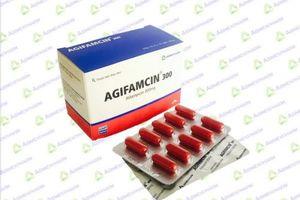 Thu hồi hàng loạt Thuốc kháng sinh Agifamcin 300mg của Agimexpharm