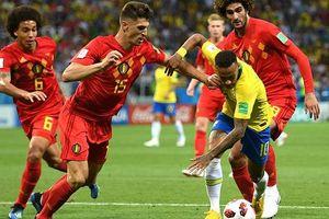 Hậu vệ Bỉ bất ngờ vì sự tầm thường của Neymar