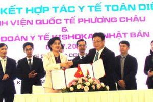 Bệnh viện QT Phương Châu hợp tác toàn diện với Tập đoàn Y tế Kishokai Nhật Bản