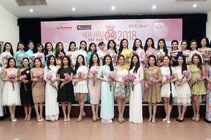 Danh sách thí sinh vào Chung khảo phía Bắc Hoa hậu Việt Nam 2018
