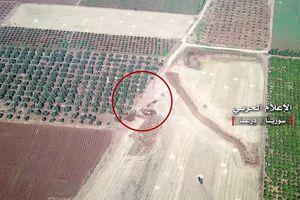 Pháo binh Syria đánh phá trận địa phòng ngự thánh chiến tại Daraa