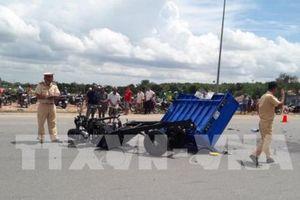 Báo cáo nhanh về vụ tai nạn giao thông liên hoàn khiến 3 người tử vong ở Bình Dương