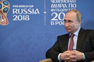 Tổng thống Putin tự hào về đội tuyển Nga tại World Cup 2018