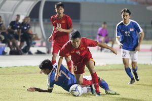 Hòa U19 Singapore, U19 Việt Nam chia tay giải Đông Nam Á