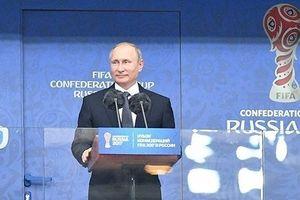 Tổng thống Putin gọi các tuyển thủ Nga sau trận đấu với Croatia là những người hùng