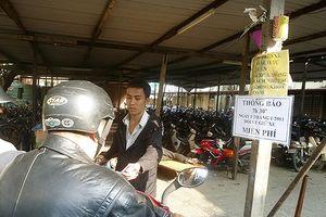 Đà Nẵng lại đề nghị dừng chính sách không thu tiền giữ xe tại các bệnh viện công