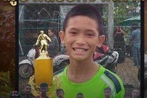 Hé lộ danh tính cầu thủ nhí Thái Lan đầu tiên được giải cứu