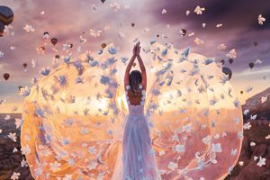 Check-in vòng quanh thế giới với đầm dạ hội đẹp tuyệt