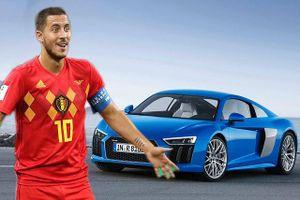 Ngắm dàn xế khủng của 'công thần' tuyển Bỉ tại World Cup 2018