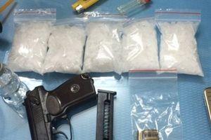 Hải Phòng: Bắt giữ nhiều đối tượng 'găm' súng quân dụng khi mua bán ma túy