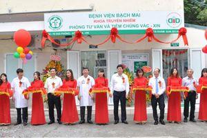 Bệnh viện Bạch Mai khai trương Phòng tư vấn và tiêm chủng vắc xin