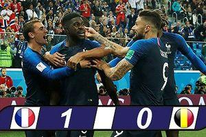 Pháp- Bỉ (1-0): 'Gà trống Gaulois' vào chung kết