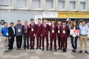 Việt Nam giành một huy chương vàng Olympic Toán quốc tế