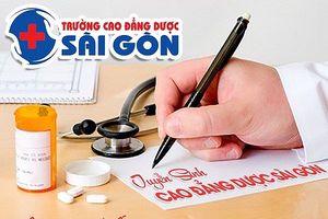 Trường Cao đẳng Dược Sài Gòn tuyển sinh Cao đẳng Dược năm 2018