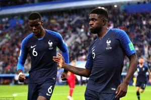 Tuyển Pháp chiếm đa số trong đội hình tiêu biểu vòng bán kết World Cup 2018