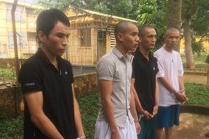 Triệt xóa ổ nhóm đối tượng có tiền án ở nhiều tỉnh 'tụ' lại ở Đắk Lắk trộm xe