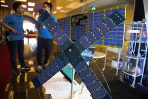 3 mô hình vệ tinh do kỹ sư Việt Nam tự chế tạo