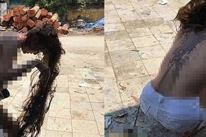 Nghi đánh ghen, cô gái trẻ bị lột áo: Trích xuất camera
