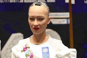 Những câu nói ấn tượng của robot Sophia khi đến VN