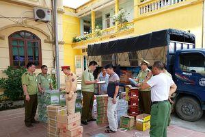 Bắt số lượng lớn thực phẩm 'bẩn' Trung Quốc nhập lậu