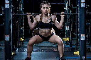 Cô gái trẻ giảm béo 32 kg và 'chiêu' truyền cảm hứng tập gym cho chồng