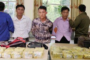 Cảnh sát mai phục bắt nhóm vận chuyển 25 kg ma túy