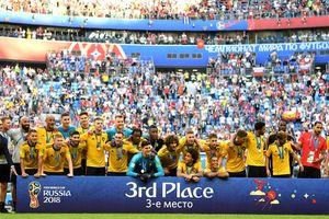 Bỉ 2-0 Anh: Bỉ giành Huy chương đồng World Cup 2018