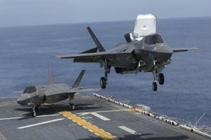 Mỹ âm thầm đưa tàu sân bay chở chiến đấu cơ F-35 đến Biển Đông