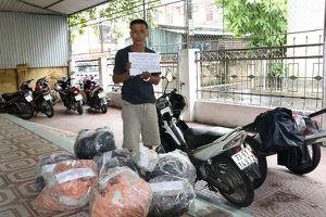Bắt đối tượng đưa 215kg thuốc nổ và 1.000 kíp nổ từ Quảng Bình ra Hà Tĩnh
