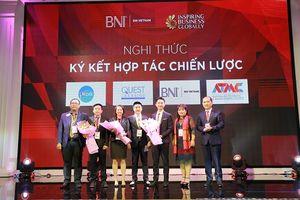 IWORK global ký kết thỏa thuận hợp tác chiến lược với BNI Việt Nam