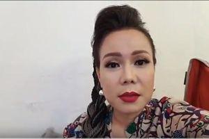 Nghệ sĩ Việt Hương bất ngờ livestream chửi thẳng mặt nam diễn viên điện ảnh làm việc không có tâm
