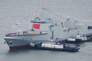 Trung Quốc hạ thủy 2 chiến hạm, quyết cạnh tranh với Mỹ