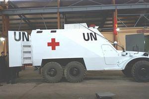 Xe thiết giáp Việt Nam hoán cải làm nhiệm vụ quốc tế
