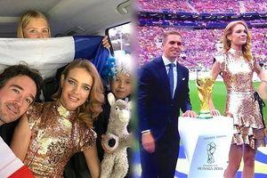 Siêu mẫu Nga mở cúp vàng trước trận chung kết