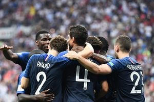 Đánh bại Croatia với tỉ số 4-2, Pháp giành chức vô World Cup 2018