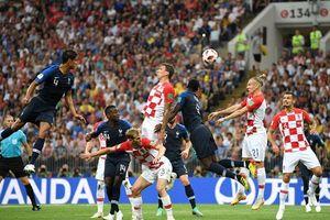 Mandzukic phản lưới, Pháp mở tỉ số trận chung kết World Cup 2018