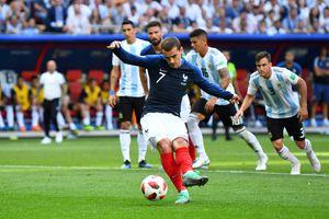 Griezmann không đủ can đảm để sút panenka như Zidane