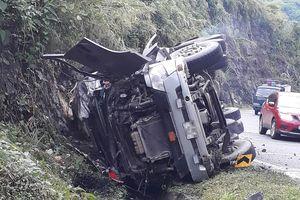 Tài xế xe bồn thiệt mạng tại điểm đen dốc Cun