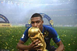 Mbappe tặng tất cả tiền thưởng tại World Cup 2018 cho quỹ từ thiện