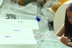 Bắt 'nữ quái' vận chuyển số lượng ma túy lớn ở bến xe Mỹ Đình