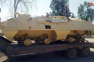 Quân đội Syria chiếm giữ hàng chục xe tăng của phe thánh chiến ở Daraa