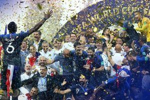 Chùm ảnh tuyển Pháp ăn mừng chức vô địch thế giới