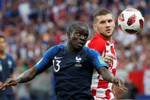 N'Golo Kante đá chung kết World Cup với bệnh viêm dạ dày