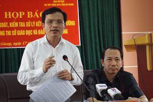 Hơn 300 bài thi trắc nghiệm ở Hà Giang bị sửa điểm