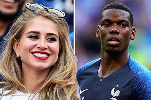 Chân dung bạn gái người mẫu của tiền vệ tuyển Pháp Paul Pogba