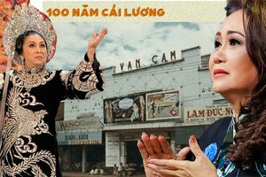 Lặng người khi xem đoạn clip về 100 năm cải lương xưa và nay của đoàn phim 'Song Lang'