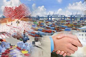 Kim ngạch xuất khẩu chính thức vượt mốc 200 tỷ USD