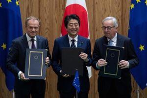 Nhật - EU bắt tay đối phó chủ nghĩa bảo hộ thương mại